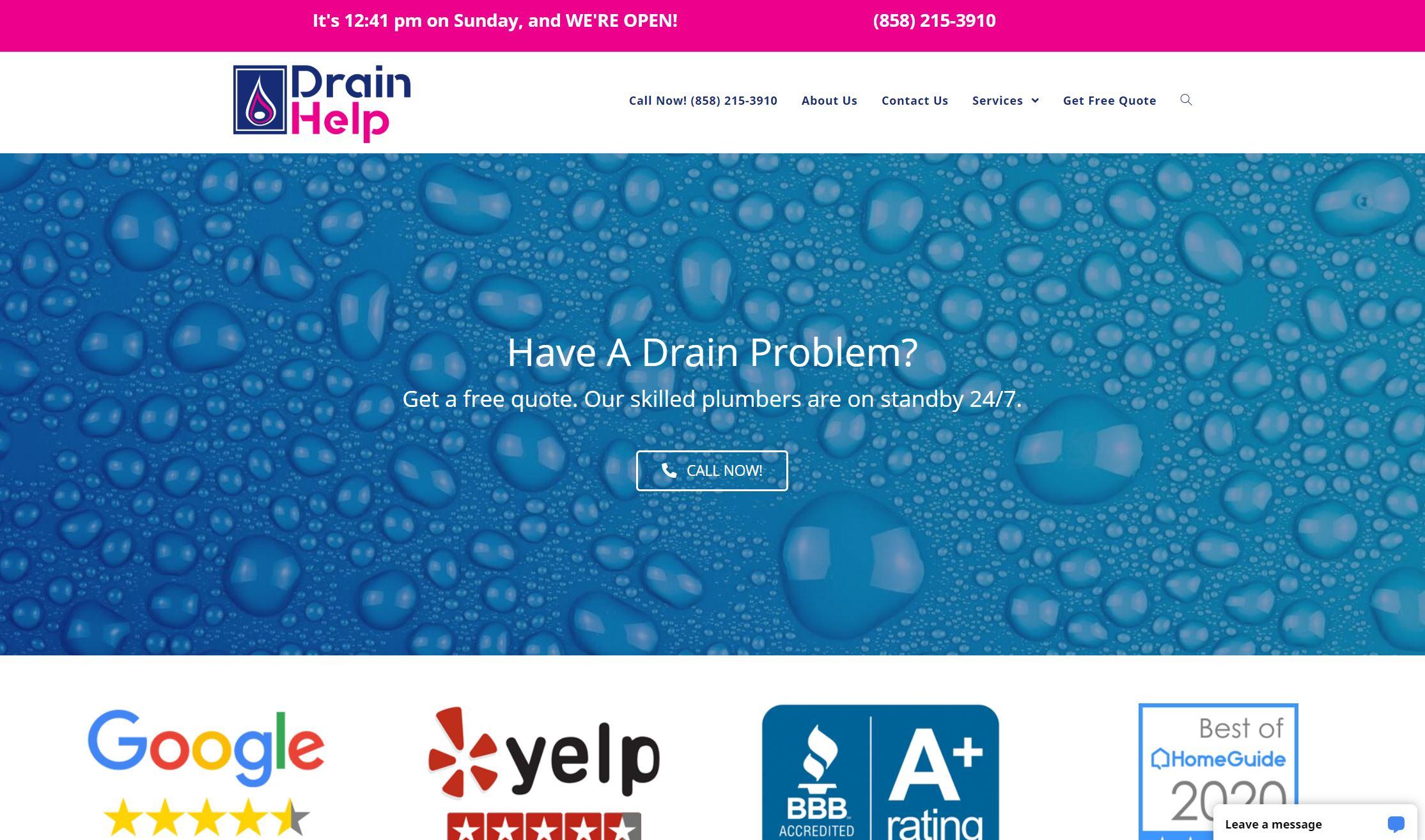DrainHelpSD.com